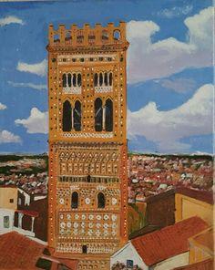 Torre de la iglesia de San Martin.Teruel mudejar..el último cuadro