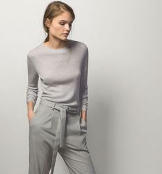 Massimo Dutti monochrome work outfit | skirttheceiling.com
