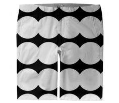 Checkout this design on White Trousers, Custom Made, Black And White, Shorts, Lady, Collection, Shopping, Design, Fashion