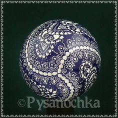 Real-Pysanky-Hand-Made-Pysanka-Easter-Egg-Chicken-Scratched-Technique