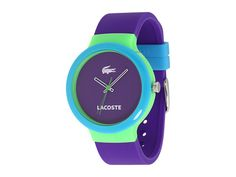 Lacoste / Goa Color Block Watch Purple/Blue/Green