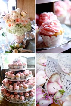 If you, like many other ambitious people these days, are attempting a DIY wedding, this website has lots of great inspiration. Love these cupcakes!