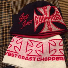 2  West coast chopper beanies 2West Coast chopper beanies West Coast choppers Accessories Hats