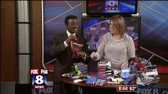 Men of all ages are injecting personality, style and a lot of fun into their daily outfits by the socks they are choosing to wear. Heidi Yanok from Beachwood Place showed Fox 8's Wayne Dawson how s...
