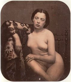 French stereo nude, ca. 1850