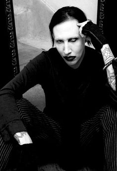 Marilyn Manson. He's so perfect :)