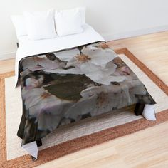White Springs, Make Your Bed, College Dorm Bedding, Spring Blossom, King Size, Your Favorite, Comforters, Blanket, Pillows