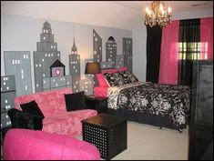 paris themed kids room | how to create a charming girl's room in