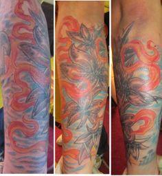 FLOWER Tatuajes Arte es Disfrutar Chile. Metro Quinta Normal. Facebook Arte es Disfrutar
