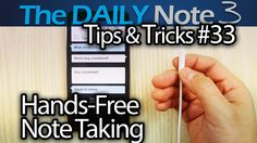 Samsung Galaxy Note 3 Tips & Tricks Episode 33: Hands-Free Note Taking (...