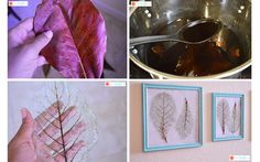 How To Make Skeleton Leaves with Printable Instructions