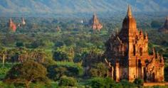 #Bagan – The city of over #2000temples, it doesn't get any holier than this. Scattered are the temples in the vast land of Bagan, where you can tour in hot air balloons, horse carriage or even motorbikes.