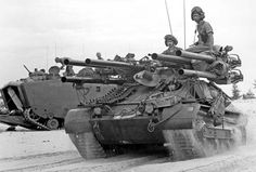 M50 Ontos with P5 in the background