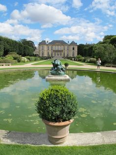 "Musée Rodin, Paris  The gardens of this museum are dedicated to the life and work of Auguste Rodin. An exquisite mansion houses the interior galleries, and outside you can walk among some of the artist's most celebrated bronzes, including ""The Thinker"". #travelcompanion"