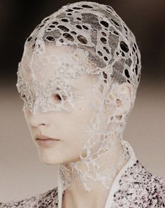 Alexander McQueen Spring/Summer 2012  As Good as Knit Gets, Lois Albinson