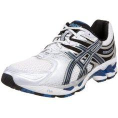 ASICS Men's GEL-Kayano 16 Running Shoe,White/Royal/Lightning,9 4E (Apparel) http://www.amazon.com/dp/B002EQA42C/?tag=pindemons-20 B002EQA42C