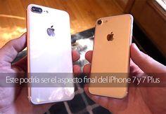 Este podría ser el aspecto final del iPhone 7 y 7 Plus (vídeo)