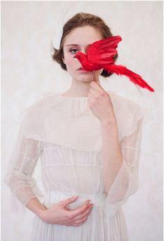 Fotógrafa y estilista: Elizabeth Messina Tocados y accesorios: Twigs & Honey