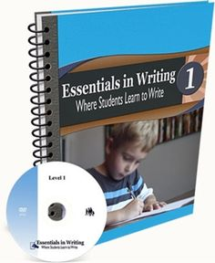 All Essentials in Writing courses include an instructional DVD and a workbook. Essentials in Writing is a complete grammar composition curriculum for students grades – Writing Curriculum, Curriculum Planning, Writing Lessons, Teaching Writing, Homeschool Curriculum, In Writing, Homeschooling Resources, Writing Ideas, Learning To Write