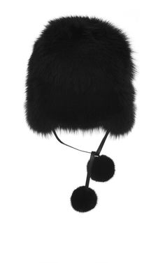 Fox, Leather, And Mink Cossack by Elie Saab for Preorder on Moda Operandi