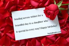 Happy birthday wishes for daughter   SayingImages.com