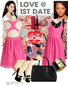 """Love at 1st date"" by vicky-wanwisa-charoenkul on Polyvore"
