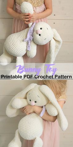 Make a Cute Bunny amigurumi crochet bunny patterns - rabbit crochet pattern - Easter pdf - amorecraf Crochet Easter, Easter Crochet Patterns, Crochet Bunny Pattern, Crochet Amigurumi Free Patterns, Cute Crochet, Crochet Crafts, Crochet Dolls, Crochet Projects, Diy Crochet Toys