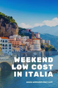 Il caldo inizia a farsi sentire e con esso la voglia di andare in vacanza, quindi perché non prenotare per un bel weekend low cost in Italia? Il nostro paese è pieno di meraviglie inesplorate e non è vero che bisogna sempre spendere tanti soldi per godersi il meritato relax. In questo articolo troverai 5 mete low cost da scegliere per il tuo weekend fuori porta.  #metelowcost #italialowcost #viaggilowcostitalia #vacanzelowcostitalia #weekendlowcost @iweekendieri