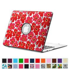 """Amazon.com: Fintie MacBook Air 13 Inch Case - Premium Vegan Leather Coated Hard Shell Protective Case Cover For Apple MacBook Air 13.3"""" (A1466 / A1369), Love Tree: Computers & Accessories"""