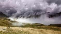 Coming! - Pinned by Mak Khalaf Landscapes cloudcloudsmountainmountainsrainskystorm by tonygoran