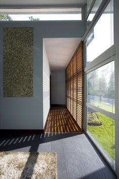 Corredor da Casa d'Aveleda, projeto de Manuel Ribeiro.  Fotografia: Ivo Tavares
