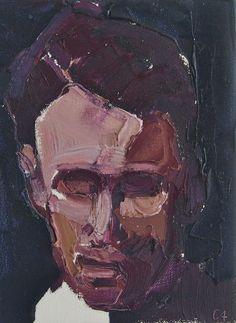 Clara Adolphs, 'Bones' Painting Portraits, Photography Illustration, Fine Art Gallery, Love Art, Artsy Fartsy, Darkness, Bones, Contemporary Art, Paintings
