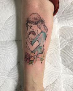 Las 122 Mejores Imágenes De Tatuajes De Hijos Hijas Y Madres En