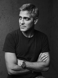 George Clooney.  Another beautiful face.
