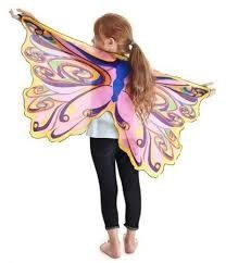 Now we have over 20 styles of wings including; Bat Wings, Dragon Wings, Butterfly Wings and Fairy Wings. Hours of active fun. Dreamy Dress-Up- Hand-crafted Fabric Wings. Ages: 3 Years & Up Washing Instructions: Hand Wash, Air Dry - No Heat. Butterfly Fairy, Butterfly Wings, Rainbow Butterfly, Unique Gifts For Girls, Rainbow Fairies, Cool Mom Picks, Best Kids Toys, Fairy Princesses, Fairy Wings