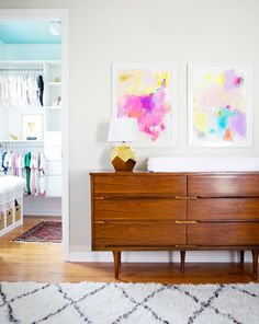Modern and clean room: http://www.stylemepretty.com/living/2015/08/22/trending-sophisticated-nurseries-your-child-can-actually-grow-into/