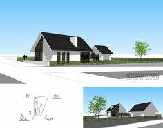 Moderne villa met kelder    Bergstein   Steenwijk Outdoor Decor, Modern, Home Decor, Trendy Tree, Room Decor, Home Interior Design, Decoration Home, Home Improvement