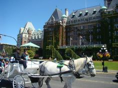 Empress : Victoria BC  One of the many Horse drawn carriges
