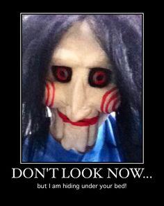 Scary clown- sleep well