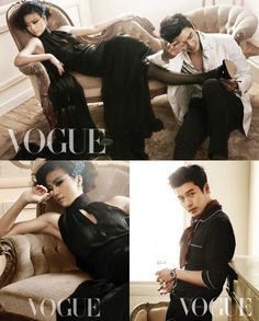 Hyun Bin and Tang Wei in Vogue Korea March 2011 Preview