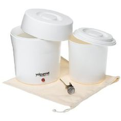 Yogourmet Specially designed to maintain the ideal temperature required for preparing healthy, natural and perfect yogurt every time Perfect for anyone on the specific carbohydrate diet Has dishwasher-safe inner container with seal-tight lid, to keep your yogurt fresh Kit comes with instructions, and a simple thermometer