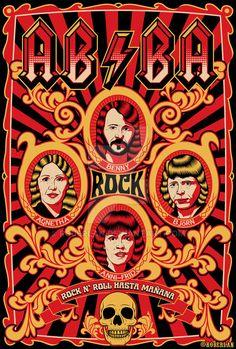 Abba Rock by roberlan.deviantart.com on @DeviantArt
