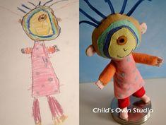 М'які іграшки за дитячими малюнками. Творчість Wendy Tsao  SKRYNYA.UA — Handmade ярмарок України