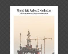 Ahmed Said Forbes & Manhattan