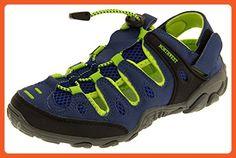 Northwest Territory Ladies Grey And Blue Atlanta Walking Sandals 10 B(M) US - Outdoor shoes for women (*Amazon Partner-Link)