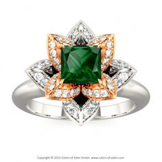 Love the design not so much the colors but beautiful ring!