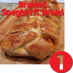 Braided Spaghetti Bread. Our most popular recipe!!