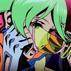 Redline by zamjj Anime Toon, Old Anime, Manga Anime, Anime Art, Redline Movie, Character Drawing, Character Design, Cyberpunk Anime, Cool Animations