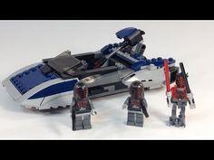 LEGO Star Wars 75022 Mandalorian Speeder with Darth Maul