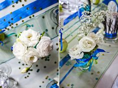 vintage wedding decor flowers